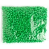 Rosary Oval Oat Beads 9X6mm Opaque Green